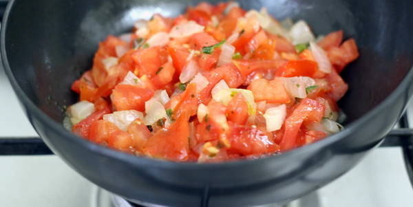bruschetta recipe tomato onion indian