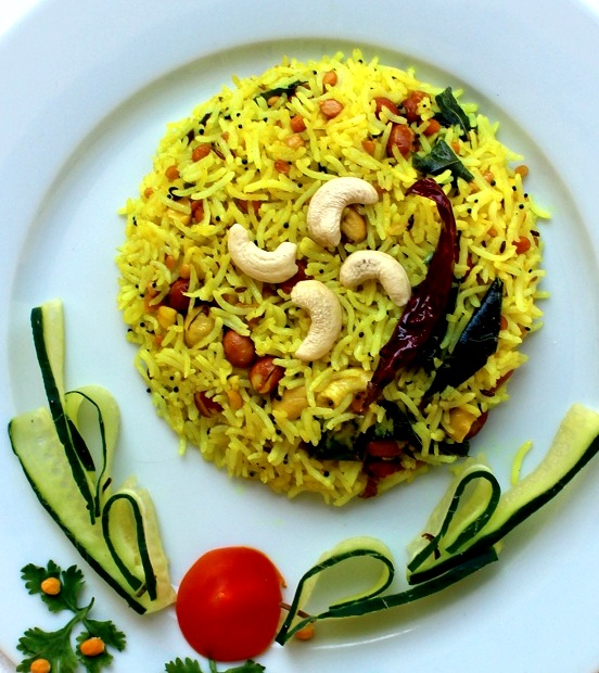 lemon-rice-recipe-south-indian-style