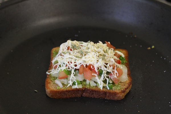 open-cheese-veg-tawa-sandwich-recipe-cheese