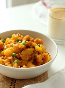 aloo gobi mutter recipe
