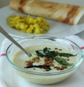 coconut chutney recipe south indian recipe