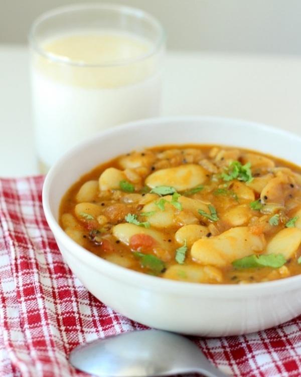 vaal nu shaak recipe gujarati vaal curry