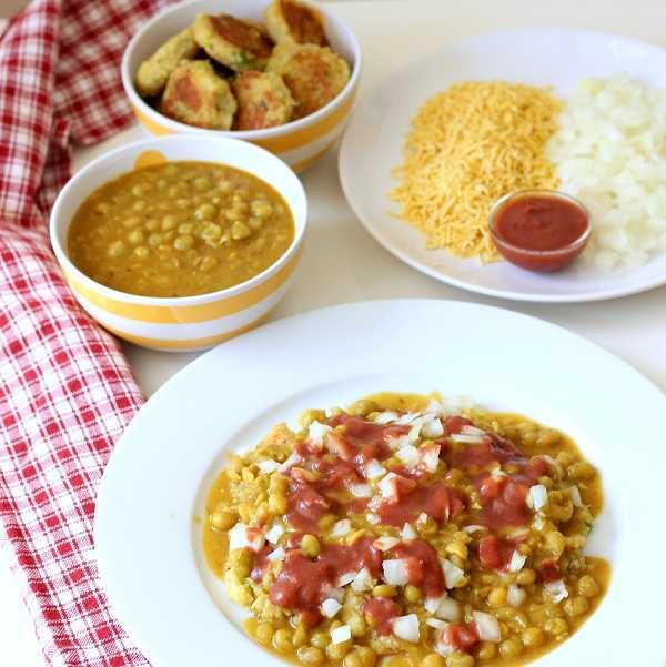 ragda patties recipe khajur imli chutney
