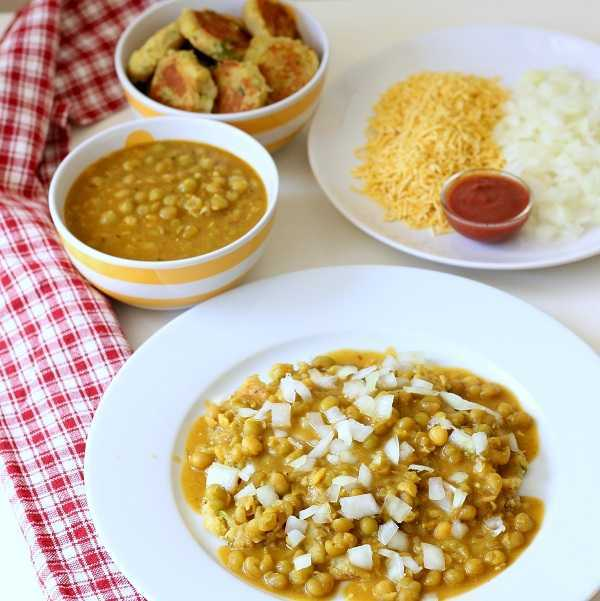 ragda patties recipe onion