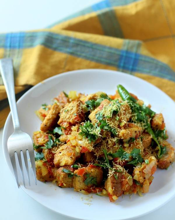 bread upma recipe bread upma breakfast