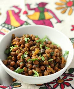 dry kala chana recipe navaratri recipe