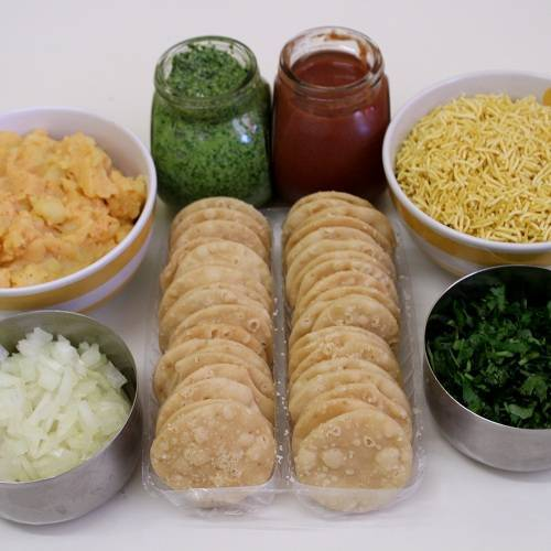 sev puri chaat ingredients