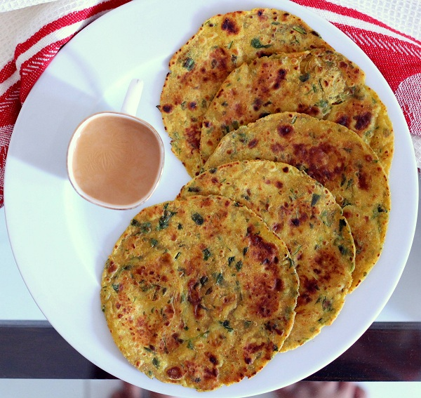 Gujarati Methi Thepla For Travel