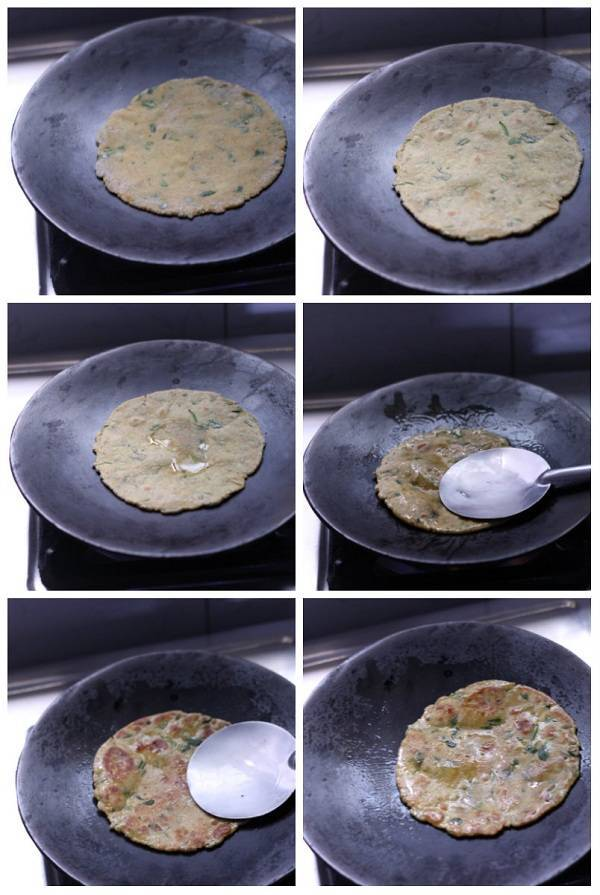 Methi Thepla Recipe how to cook on tawa