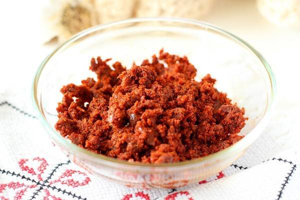 red garlic chutney recipe red garlic