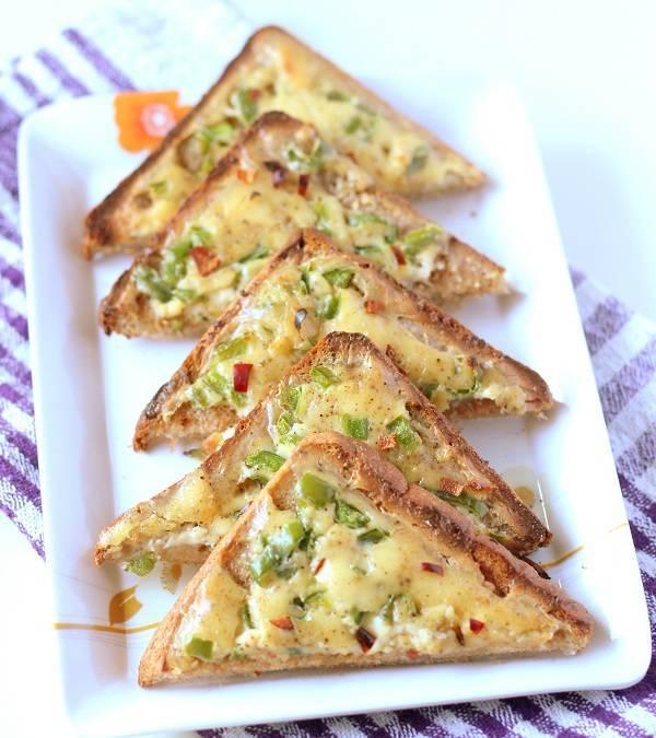 Chili Cheese Toast Recipe