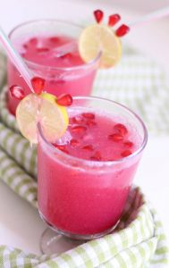 pomegranate lemonade spritzer recipe drink