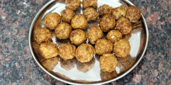 dry manchurian recipe deep fried balls