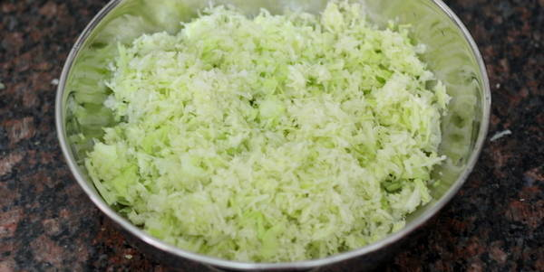 dry manchurian recipe grated cabbage