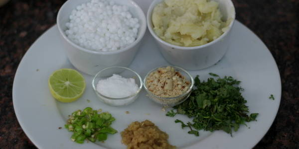 sabudana vada recipe ingredients