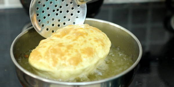 Bhature Recipe for Chole Bhature fry