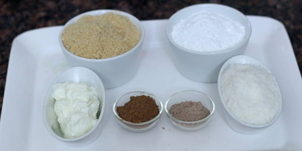 Chocolate Coconut Rolls  ingredients