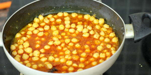 Chole Paneer Masala Recipe cooking chole