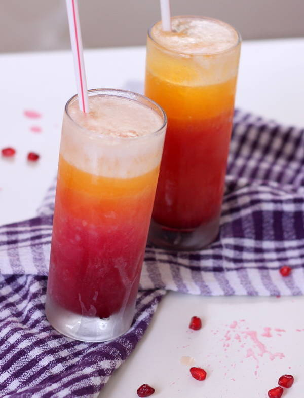 Pomegranate Orange juice recipe
