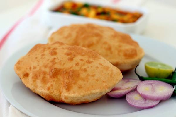 bhature recipe without yeast