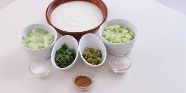 cucumber raita ingredients