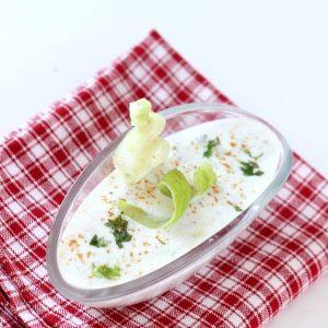 cucumber raita recipe kakdi raita recipe