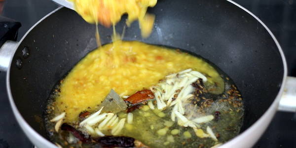 lasuni dal recipe steps boiled daal