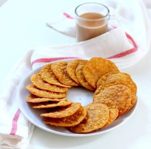 masala puri recipe poori snacks recipe