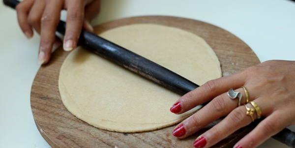 Gujarati Pad Wali Roti, Recipe of Layered Chapati - WeRecipes