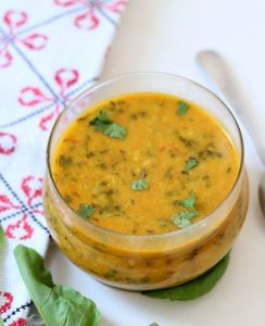palak dal tadka recipe