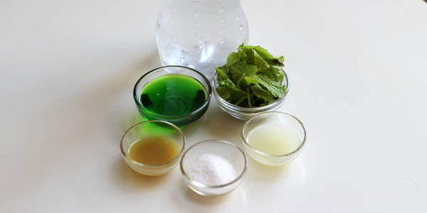 Khus cooler recipe ingredients
