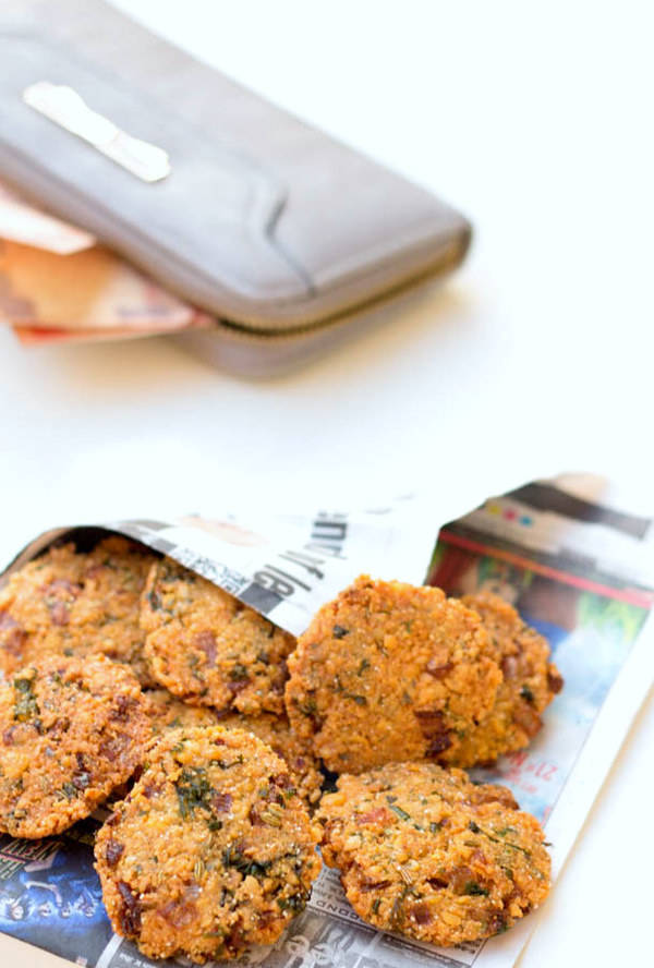 masala vada recipe south style