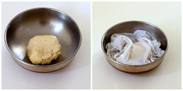 Gujiya Recipe after kneading