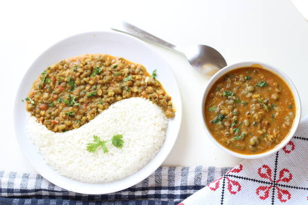 green moong dal and rice