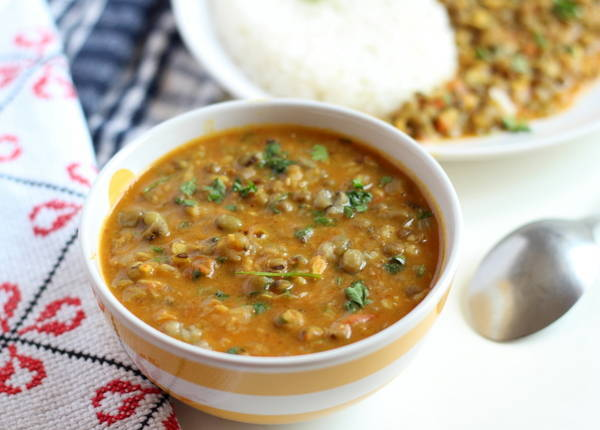 green moong dal sabzi