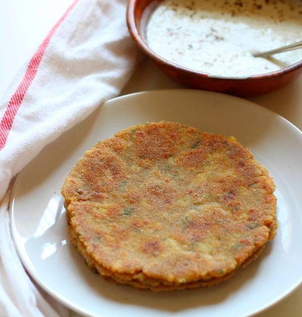 rajgira paratha recipe for fasting vrat farali