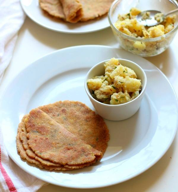 rajigra paratha recipe for vrat fasting