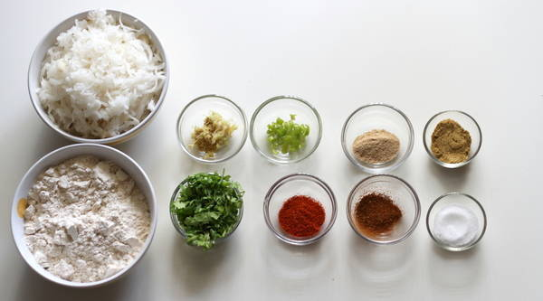 Mooli Paratha ingredients