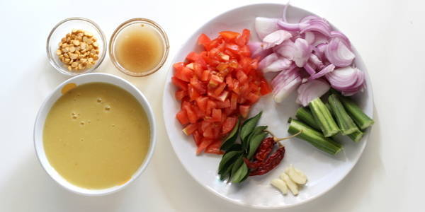 Sambar Recipe ingredients