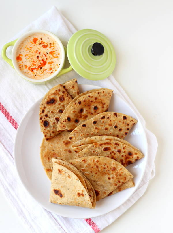 ajwain paratha recipe steps