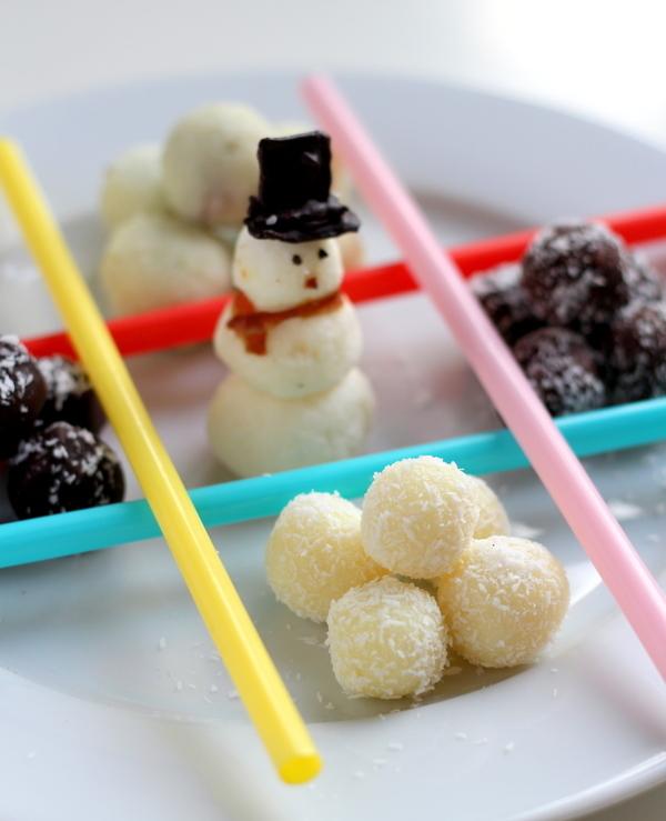 Chocolate Coconut Balls Recipe with Condensed Milk, Choco ...