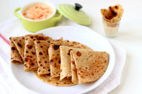 easy ajwain paratha recipe carom seeds