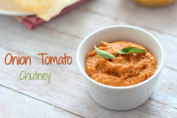 onion tomato chutney dosa recipe