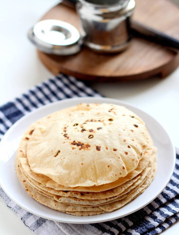 phulka roti recipe at home