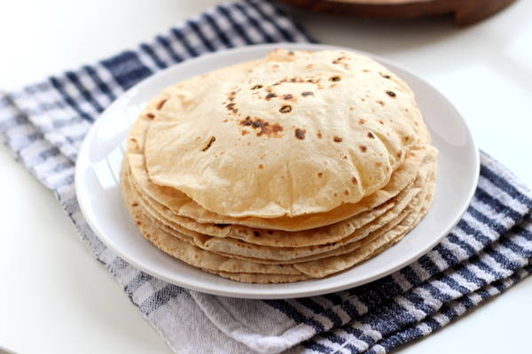 quick chappati phulka at home