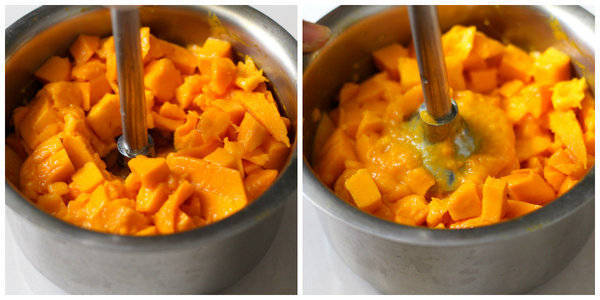 aamras recipe making mango puree