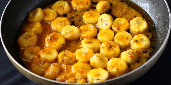 banana curry recipe sabzi ready