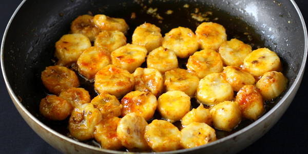 banana curry recipe saute banana in spices