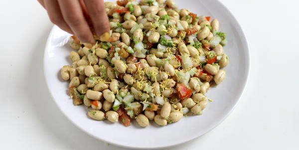 collegian chaat recipe add sev
