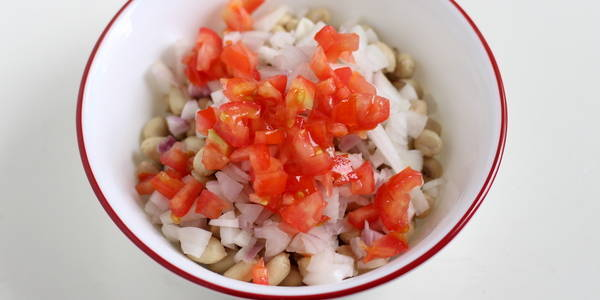 collegian chaat recipe add tomato